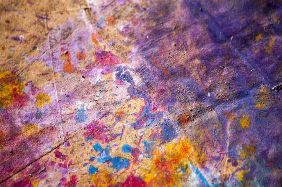 Download Free Stock HD Photo of Colorful Paint Splatter Background Online