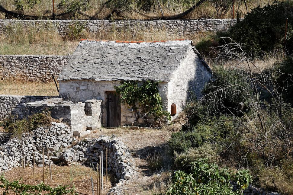 Download Free Stock HD Photo of Stone shed  Online