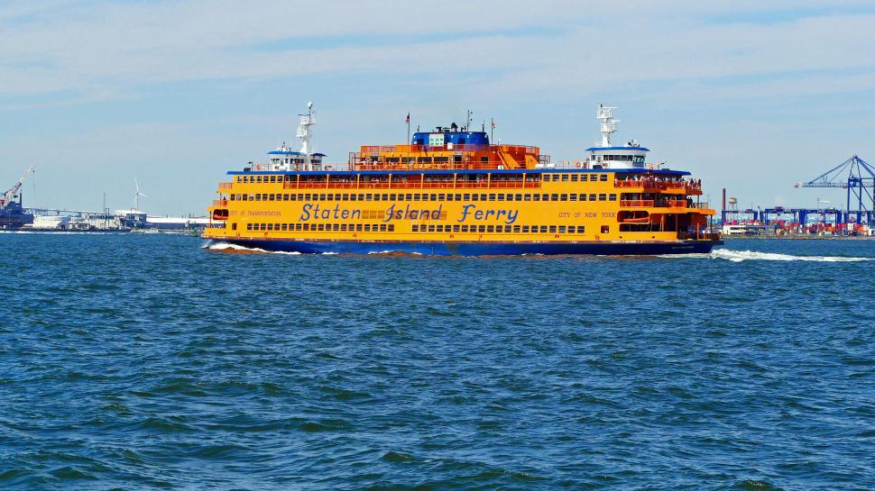 Download Free Stock HD Photo of Staten Island Ferry Online