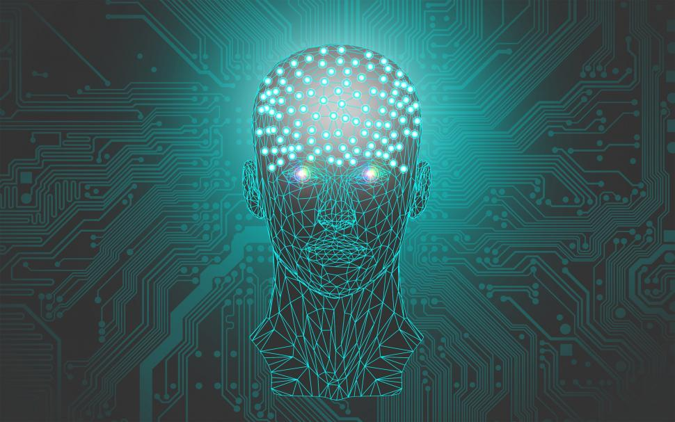 Download Free Stock HD Photo of Artificial Intelligence Concept Online