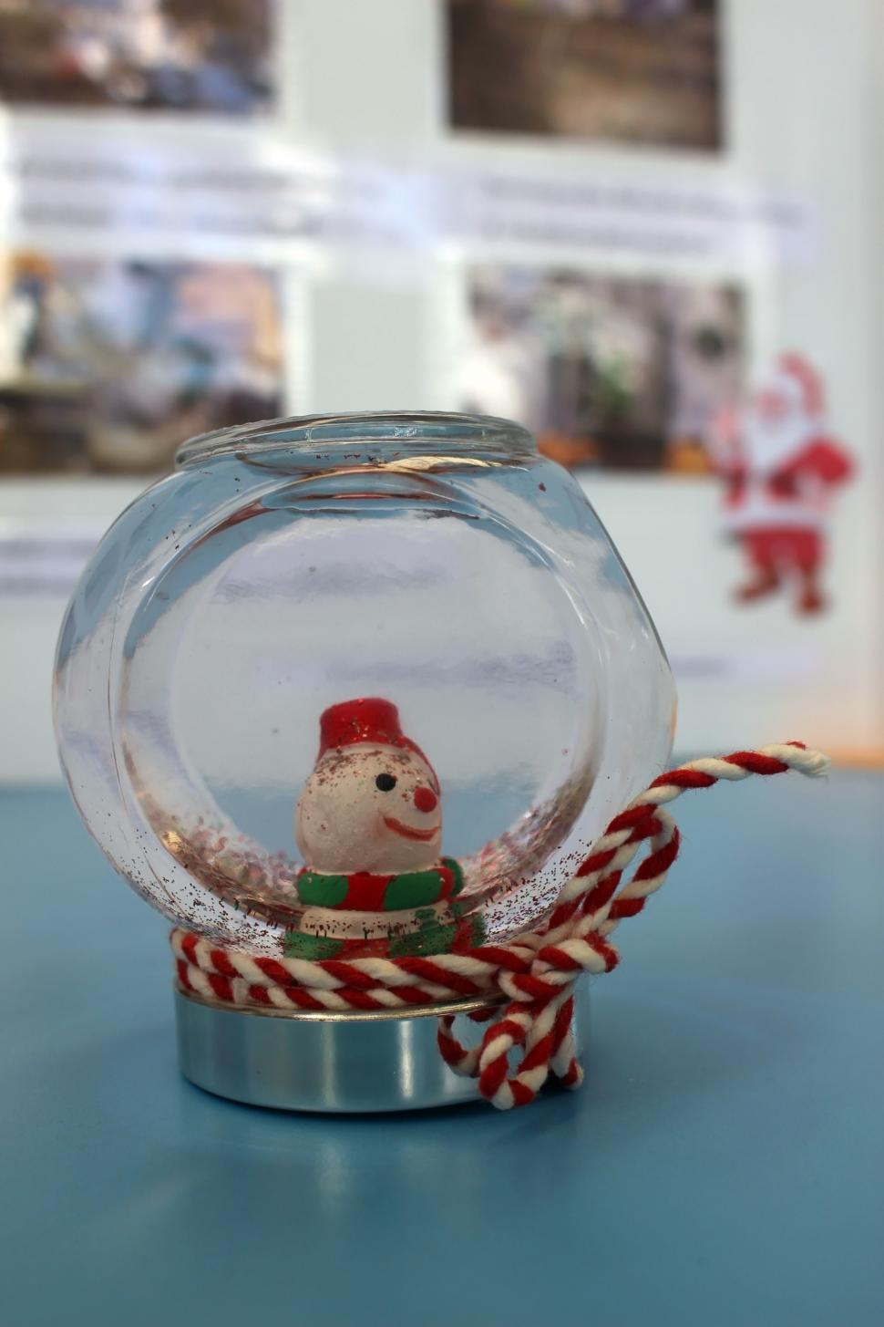 Download Free Stock HD Photo of Christmas Snow Globe  Online
