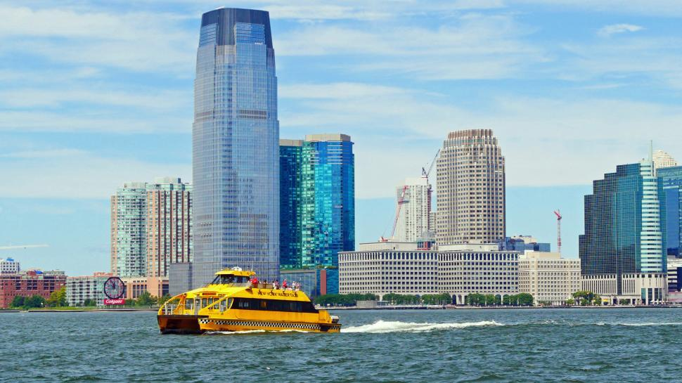 Download Free Stock HD Photo of Yellow Water Taxi Online