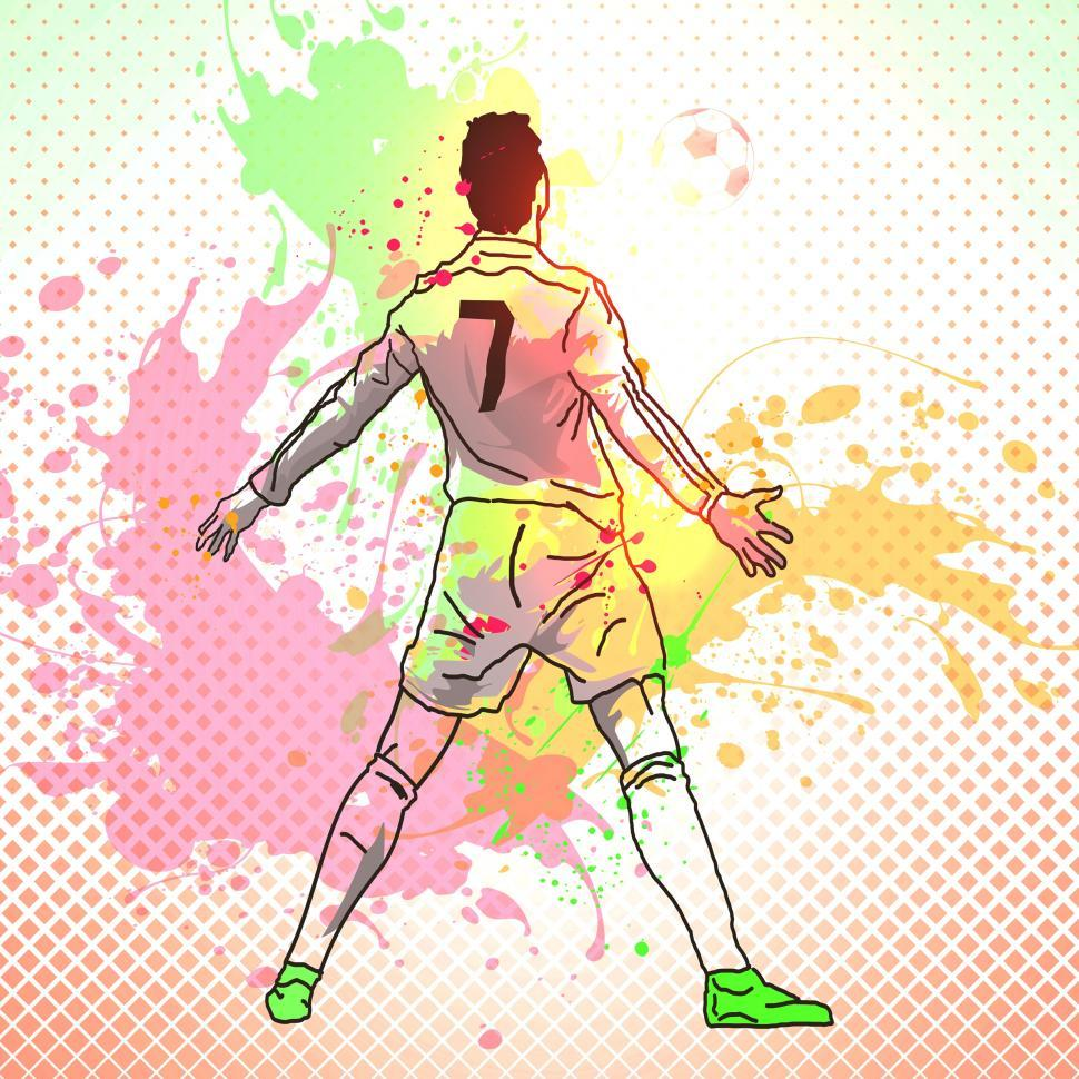 Download Free Stock HD Photo of Football Player - Soccer Player - Striker Online