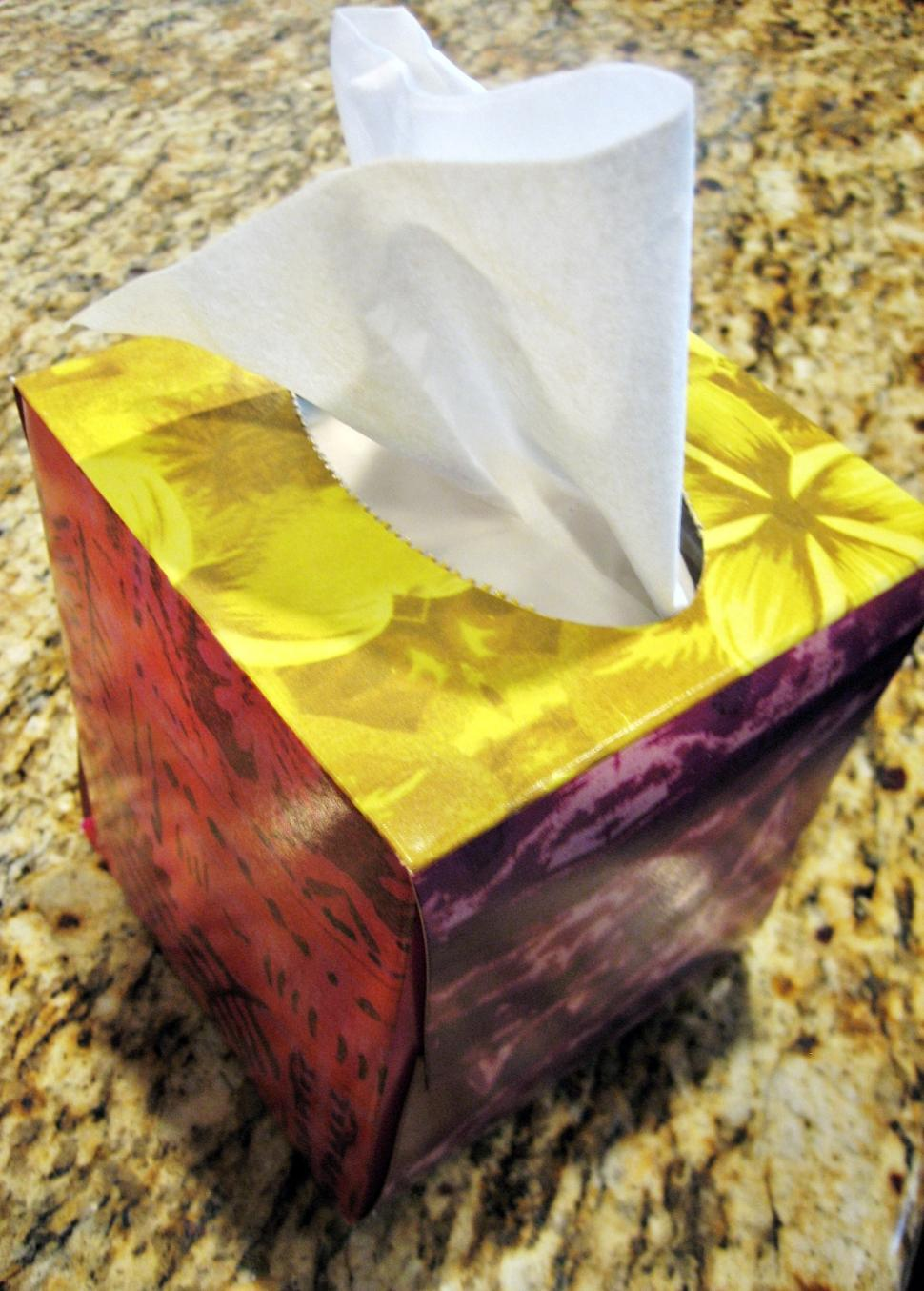 imageDesc for cat Tissue Box page Health and Fitness