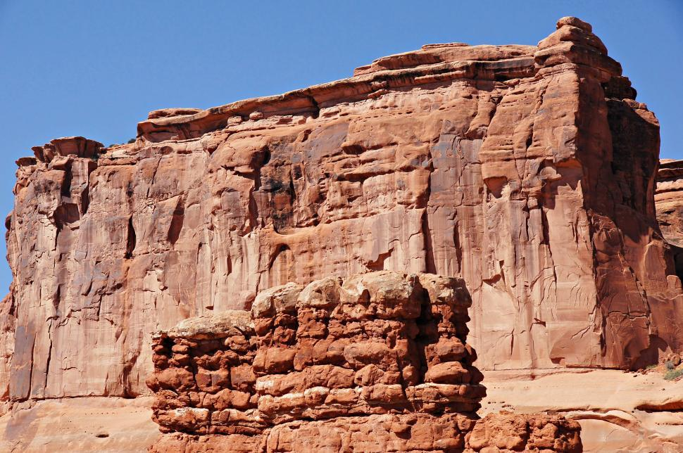 Download Free Stock HD Photo of Park Avenue at Arches National Park  Online