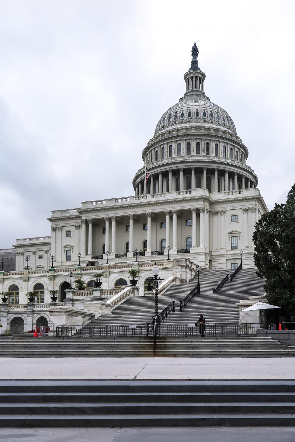 Download Free Stock HD Photo of Steps to the US Capitol Online
