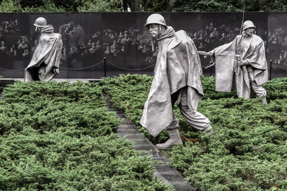 Get Free Stock Photos Of Korean War Memorial Washington Dc Online