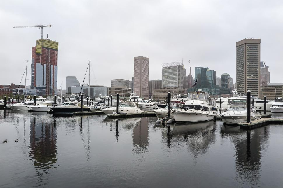 Download Free Stock HD Photo of Baltimore, Maryland Waterfront Online