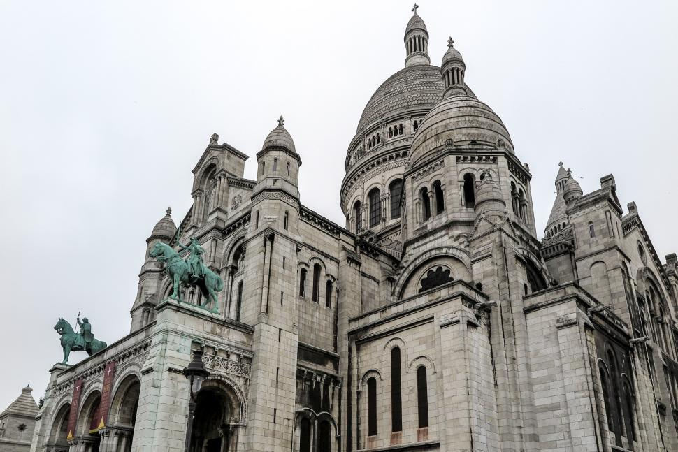 Download Free Stock HD Photo of Domes of the Sacre Coeur Online