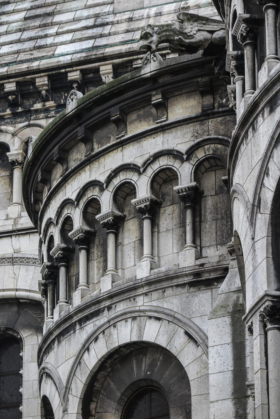 Download Free Stock HD Photo of Sacre Coeur Details Online