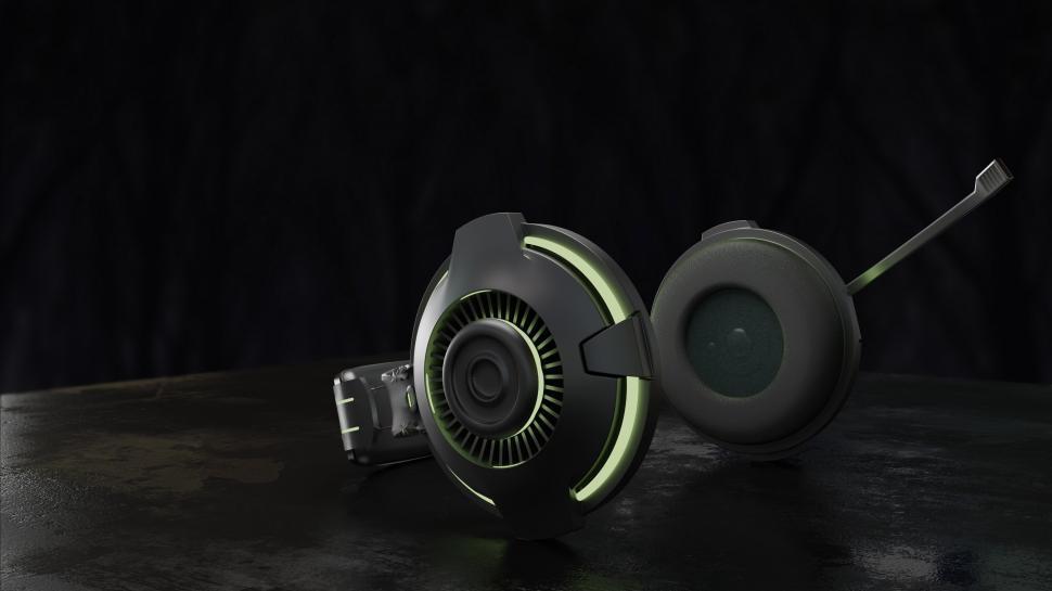 Download Free Stock HD Photo of Black Headphones Online