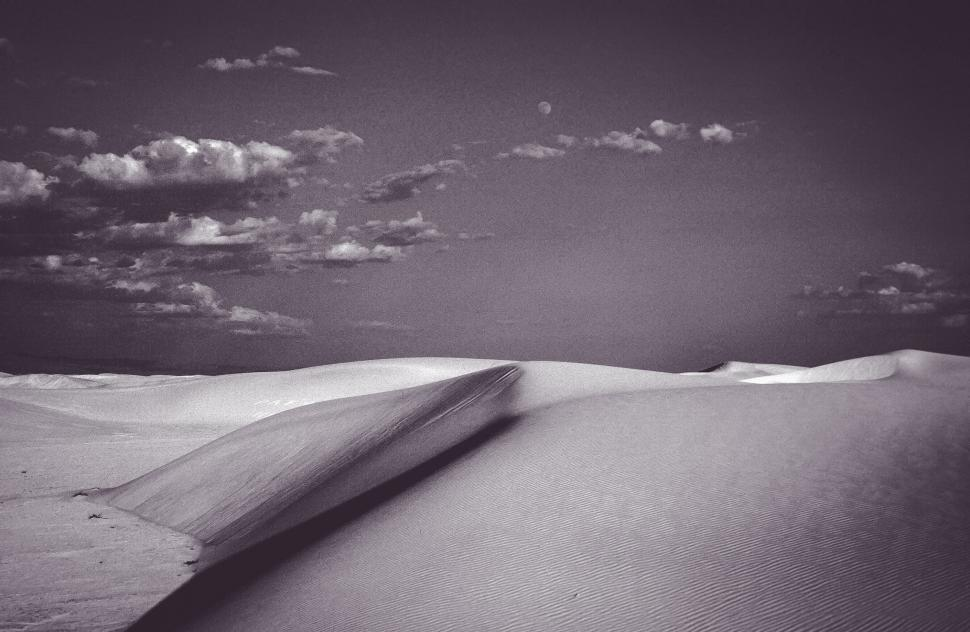 Download Free Stock HD Photo of White Sand, Black and White Online