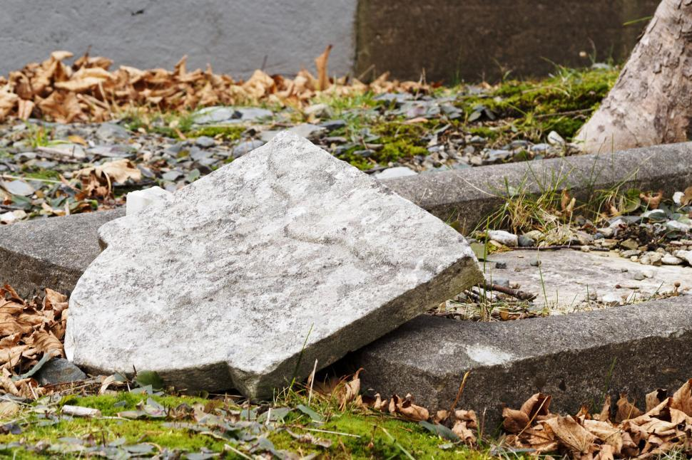 Download Free Stock HD Photo of Damaged Gravestone Online