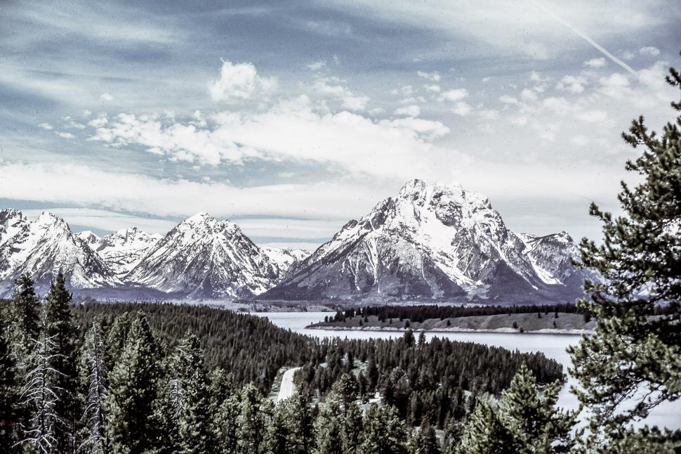 Download Free Stock HD Photo of Snow capped mountains Online