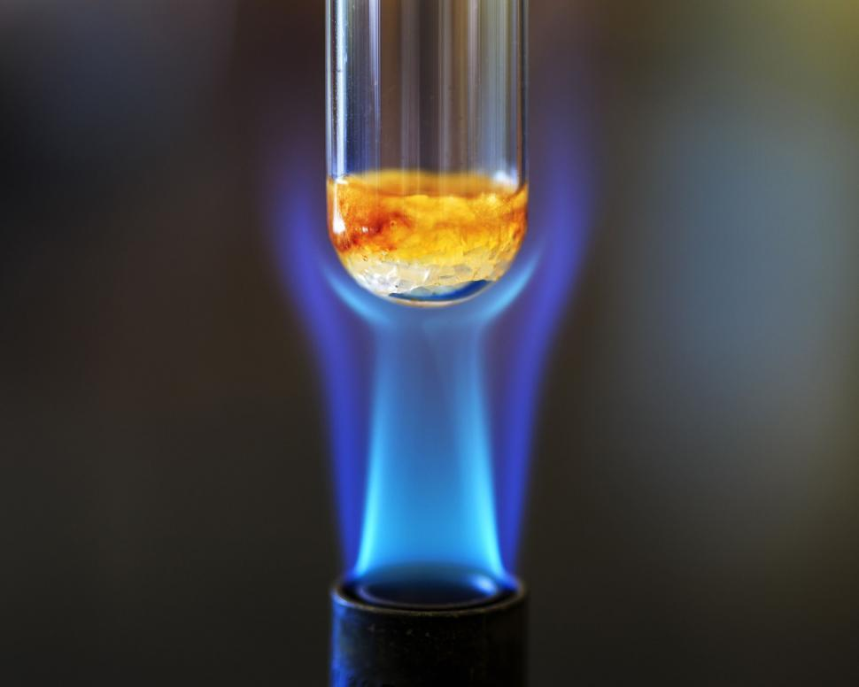 Download Free Stock HD Photo of Combustion reaction using sucrose Online
