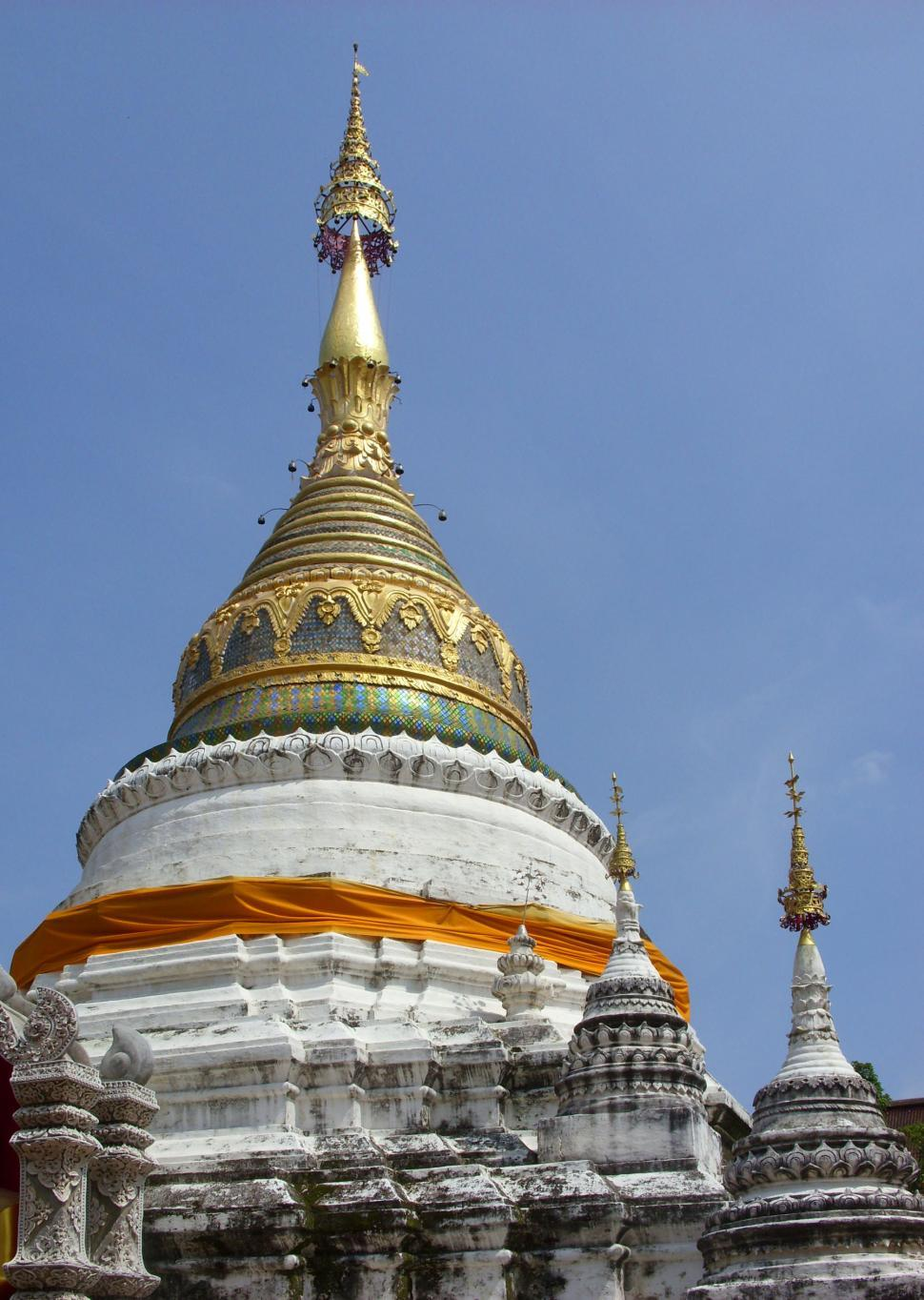 Download Free Stock HD Photo of Pagoda of Wat Bupparam Buddhist Temple Online