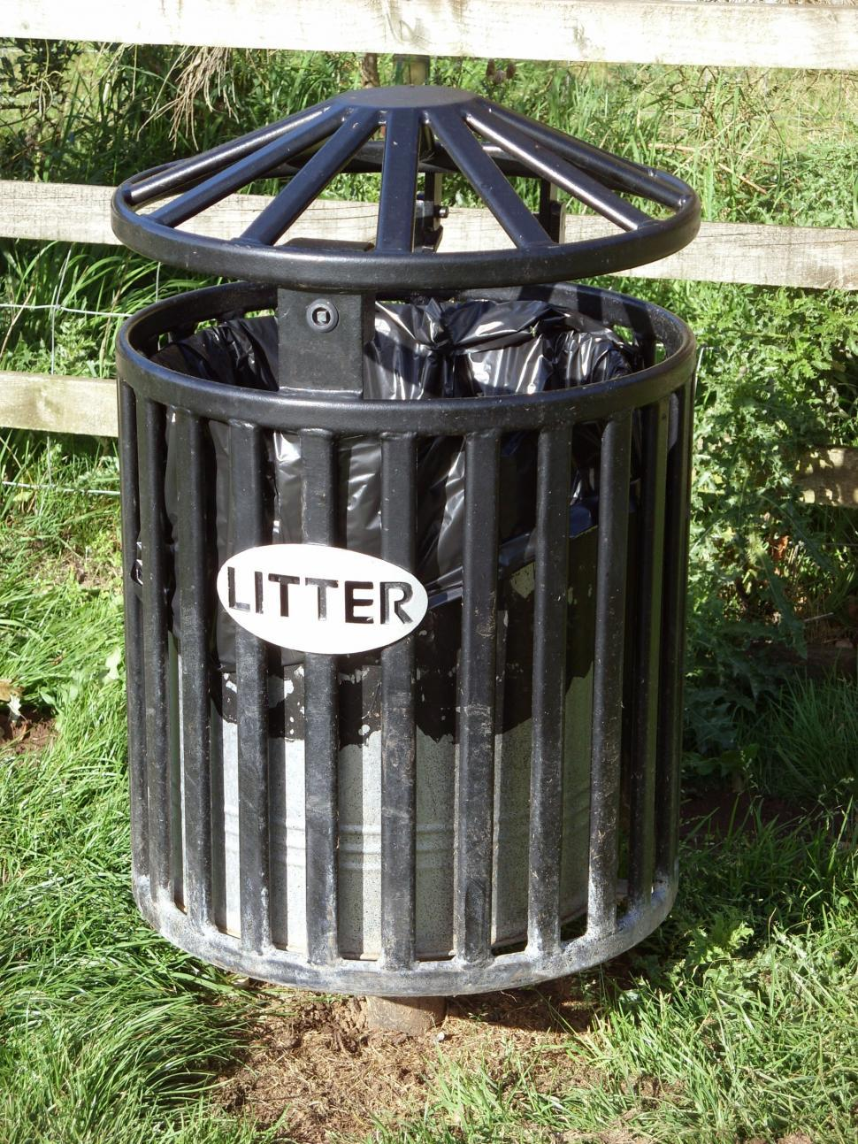 Download Free Stock HD Photo of Litter bin Online