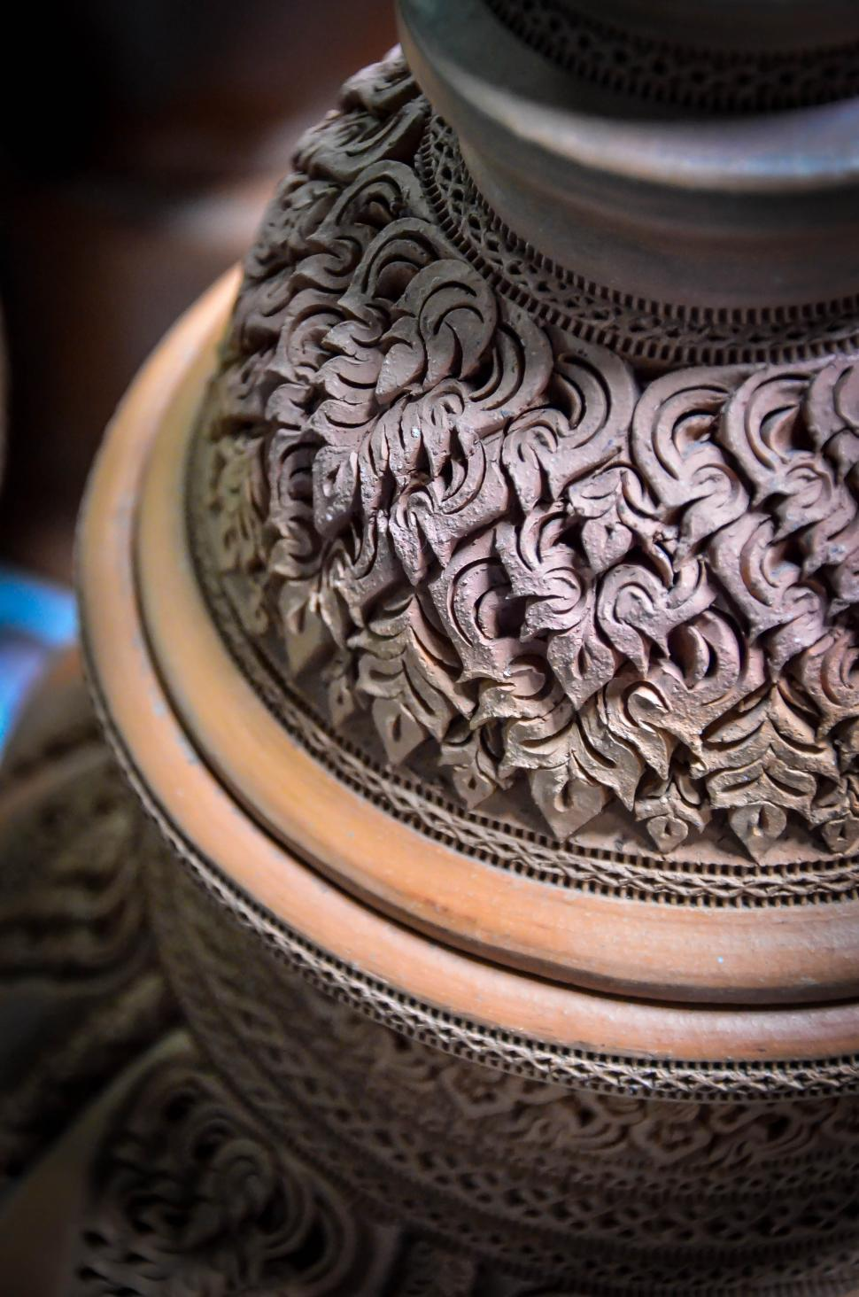 Download Free Stock HD Photo of Thai Pottery Style  Online
