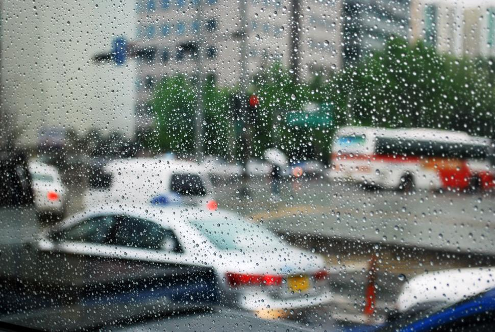 Download Free Stock HD Photo of Window and rain drops Online