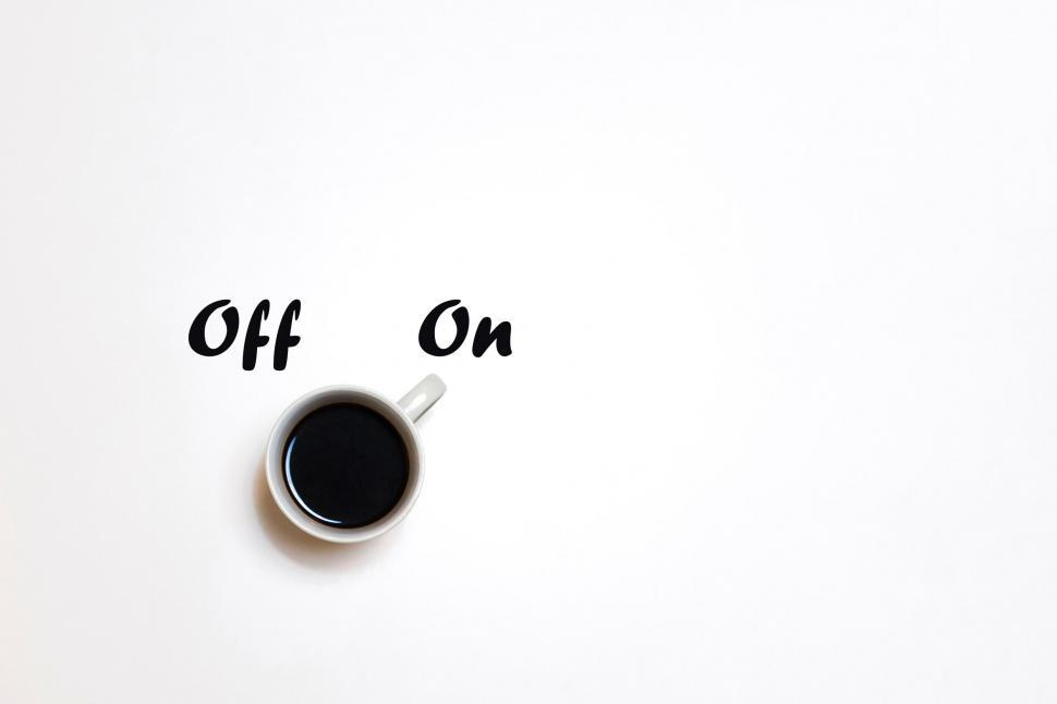 Download Free Stock HD Photo of Coffee as a Stimulant - Waking Up - Off and On - With Copyspace Online