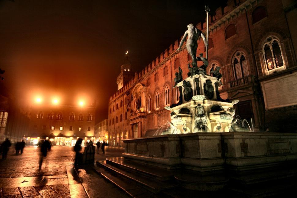 Download Free Stock HD Photo of Fountain of Neptune, Piazza del Nettuno, Bologna, Emilia Romagna Online
