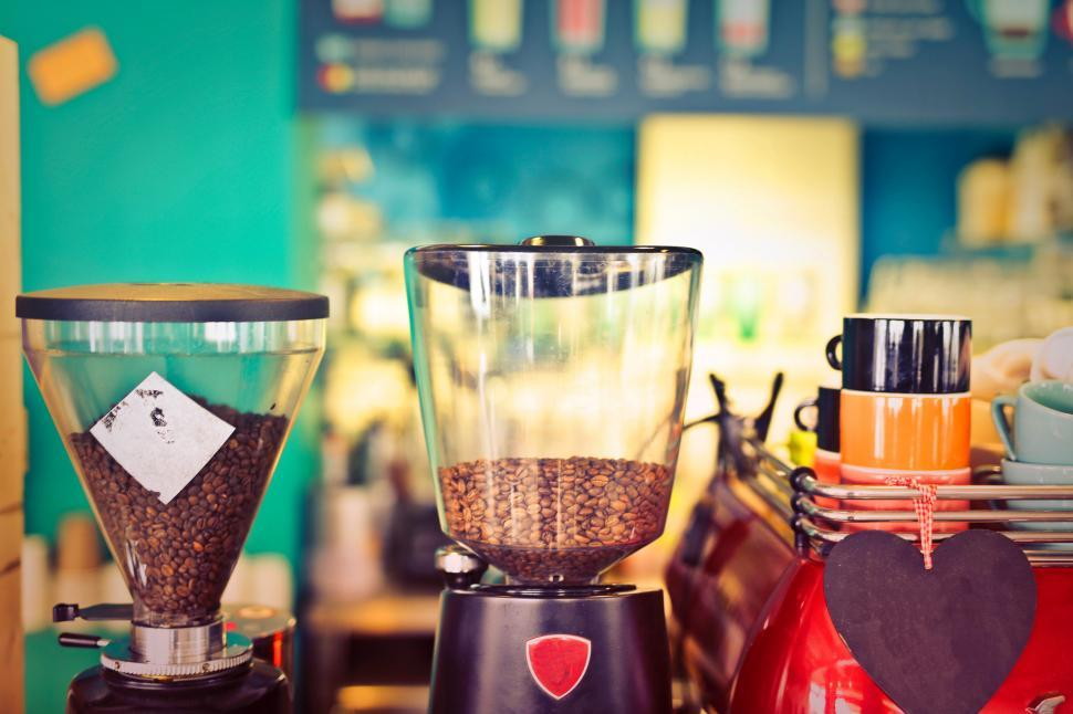 Download Free Stock HD Photo of Coffee brewing machines Online