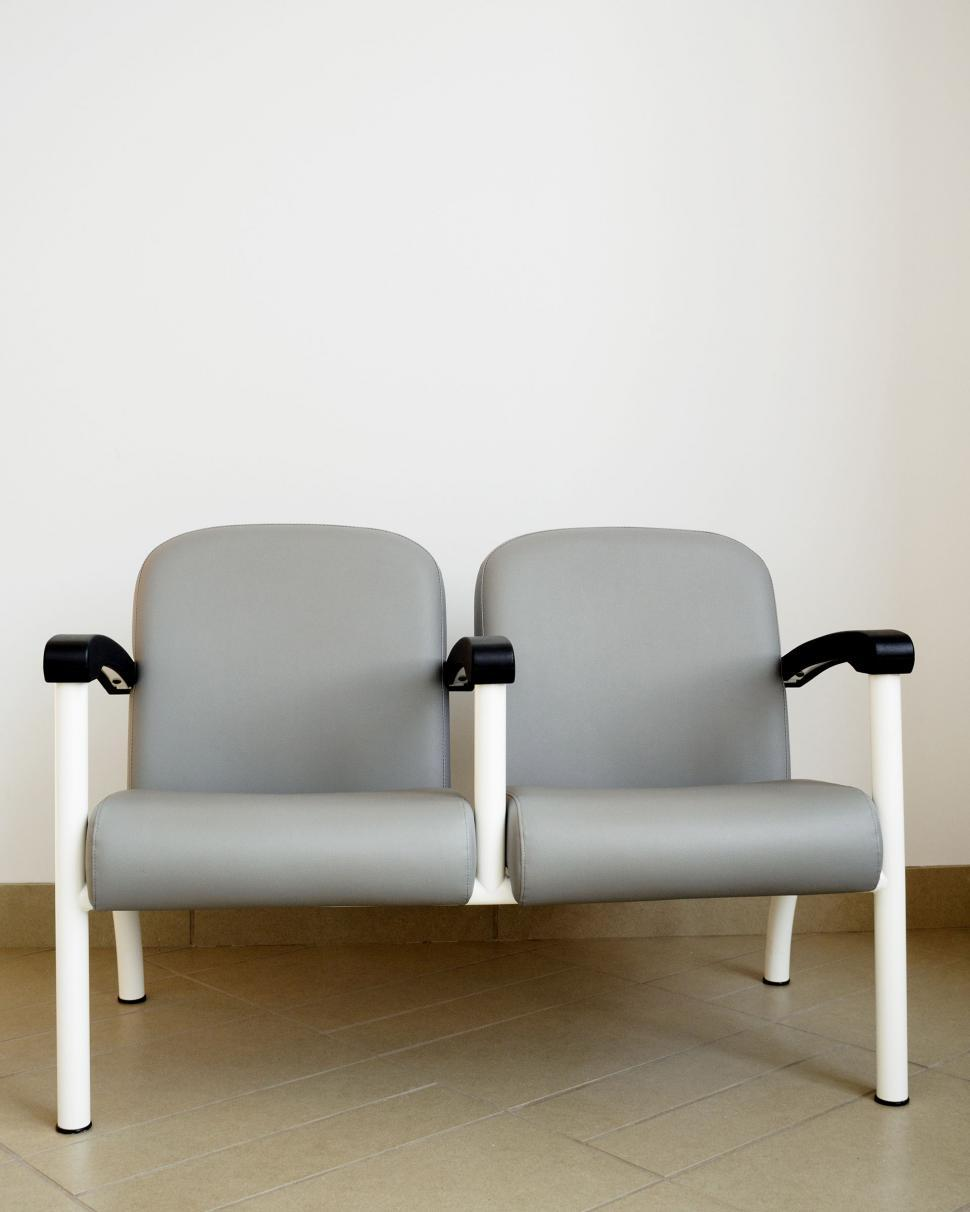 Download Free Stock HD Photo of Chairs in a modern building Online