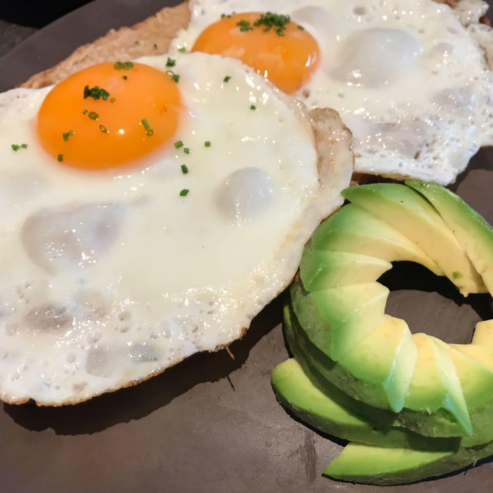 Download Free Stock HD Photo of Breakfast with Avocado  Online