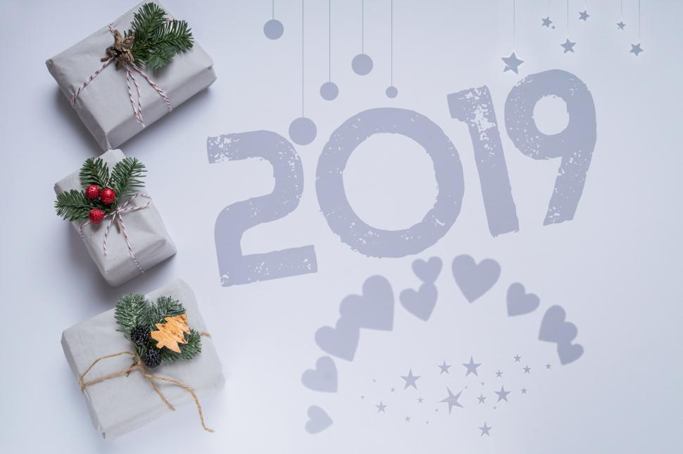 Download Free Stock HD Photo of christmas and new year, 2019 Online