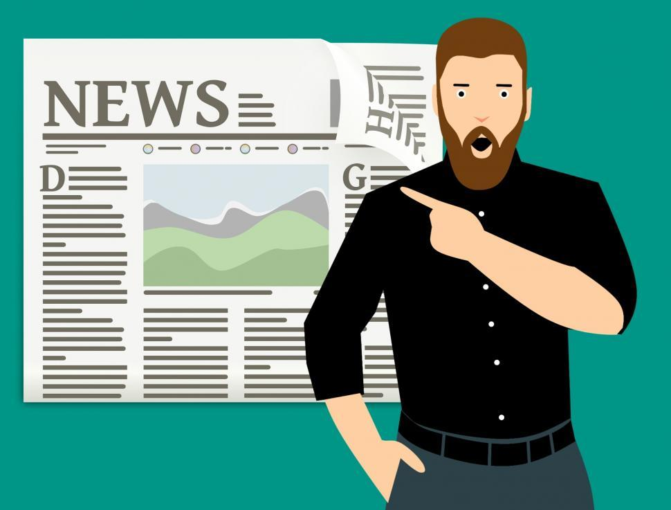 Download Free Stock HD Photo of news of the day Online