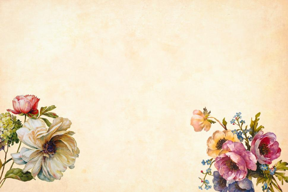 Download Free Stock HD Photo of Flower Background Vintage Look Online