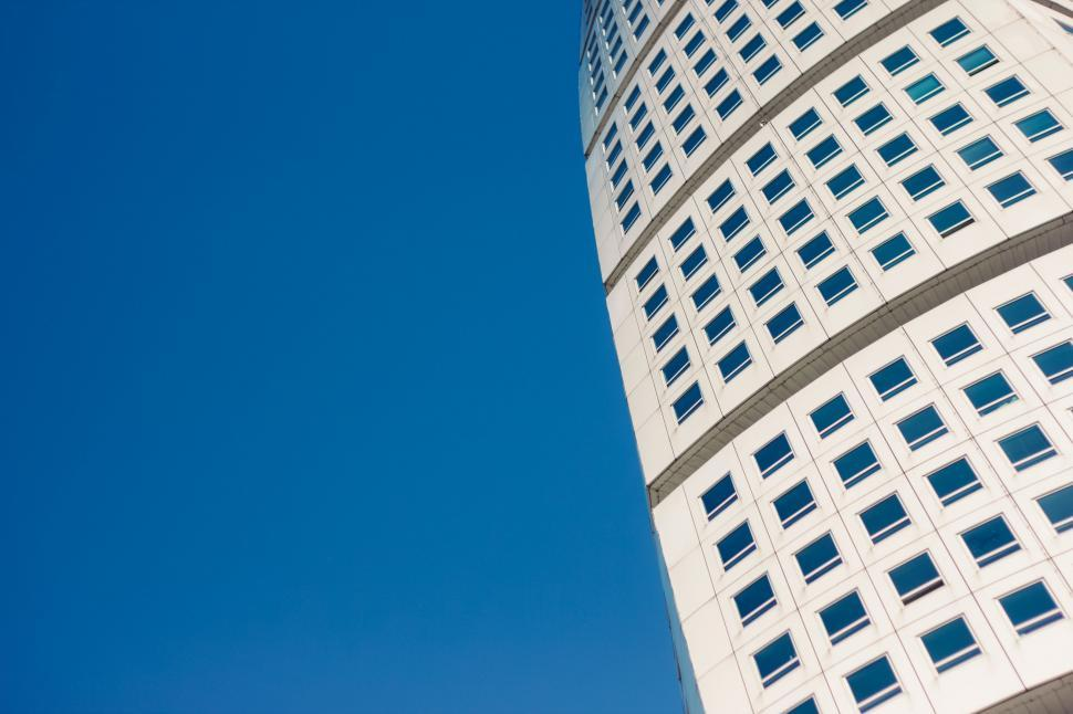 Download Free Stock HD Photo of Twisted exterior of Turning Torso, Malmo, Sweden Online