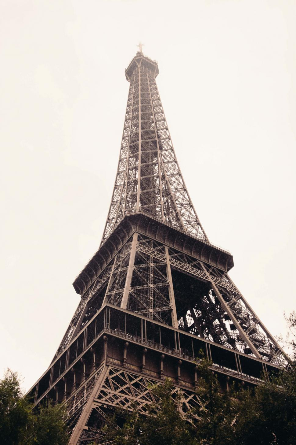 Download Free Stock HD Photo of A side view from Eiffel tower s base Online