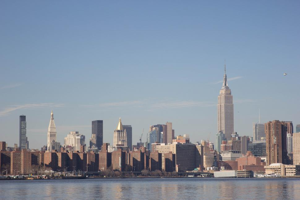 Download Free Stock HD Photo of Downtown Manhattan skyline Online