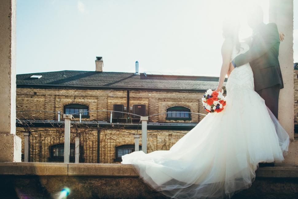 Download Free Stock HD Photo of Bride and groom together Online