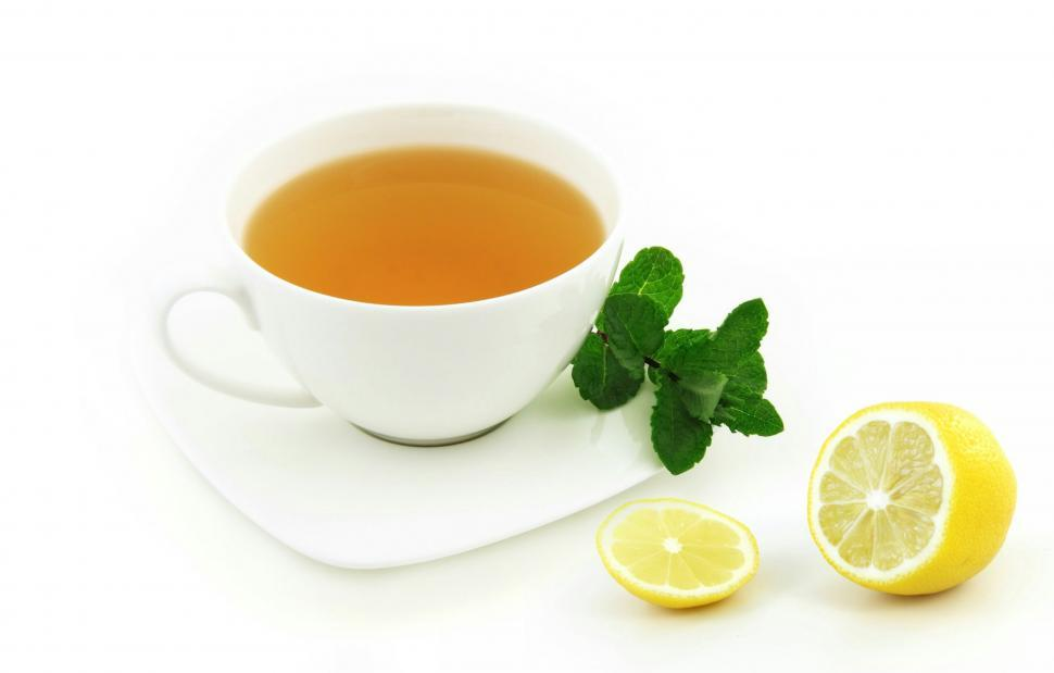 Download Free Stock HD Photo of lemon tea  Online