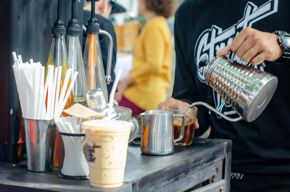 Download Free Stock HD Photo of Thai Food Style - Iced coffee Online
