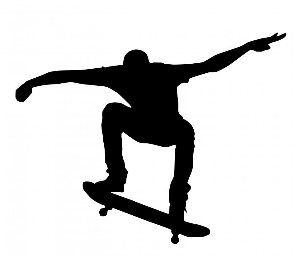 Download Free Stock HD Photo of skateboard Silhouette  Online