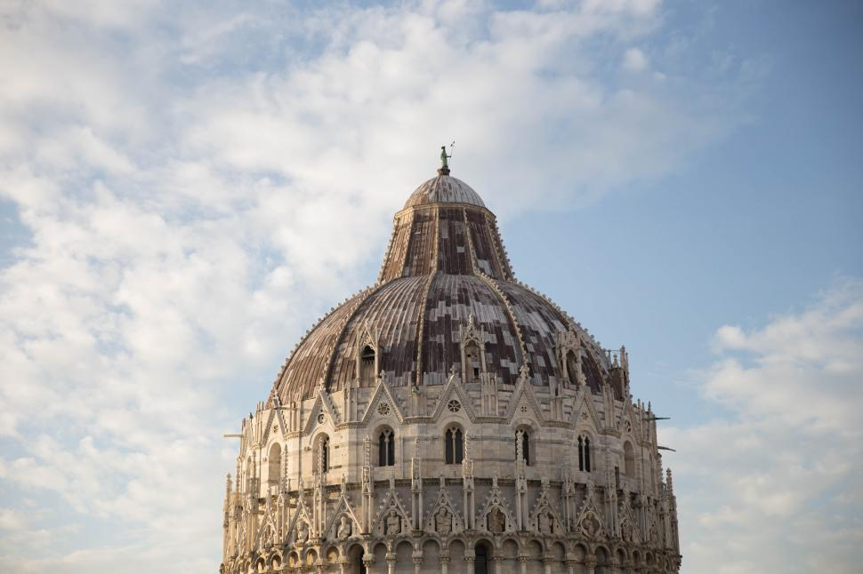 Download Free Stock HD Photo of Dome building at Baptistry of St John, Pisa, Italy -  Piazza dei Miracoli Online