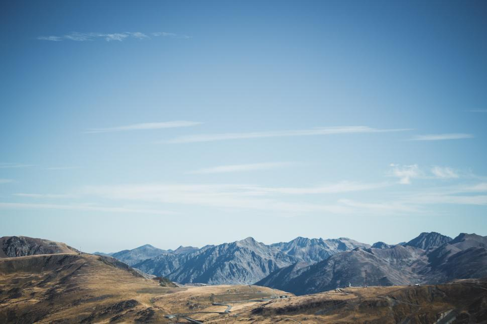 Download Free Stock HD Photo of Pyrenees mountain range in southwest Europe Online