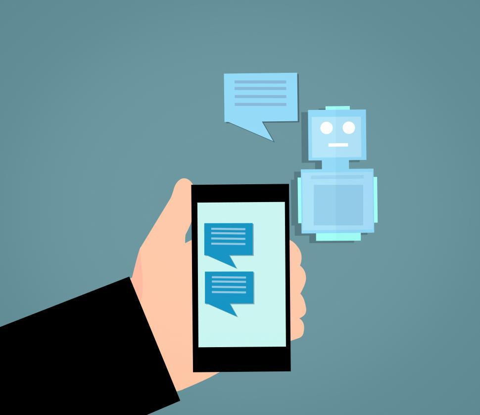 Download Free Stock HD Photo of chatbot  Online