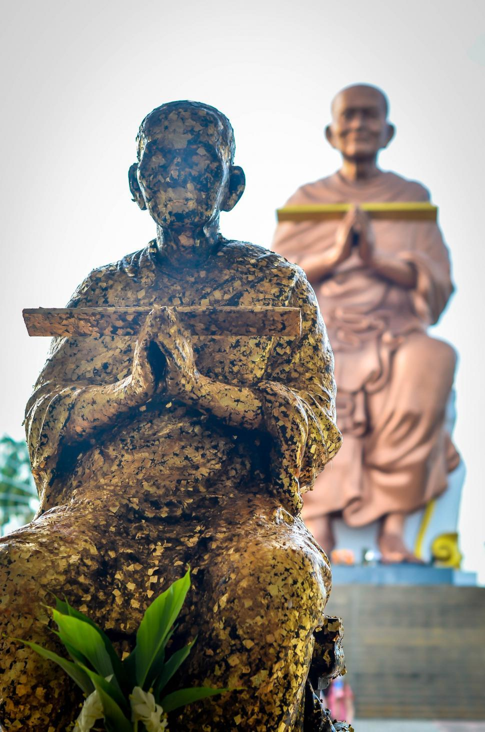Download Free Stock HD Photo of Monk Statues in Thailand  Online