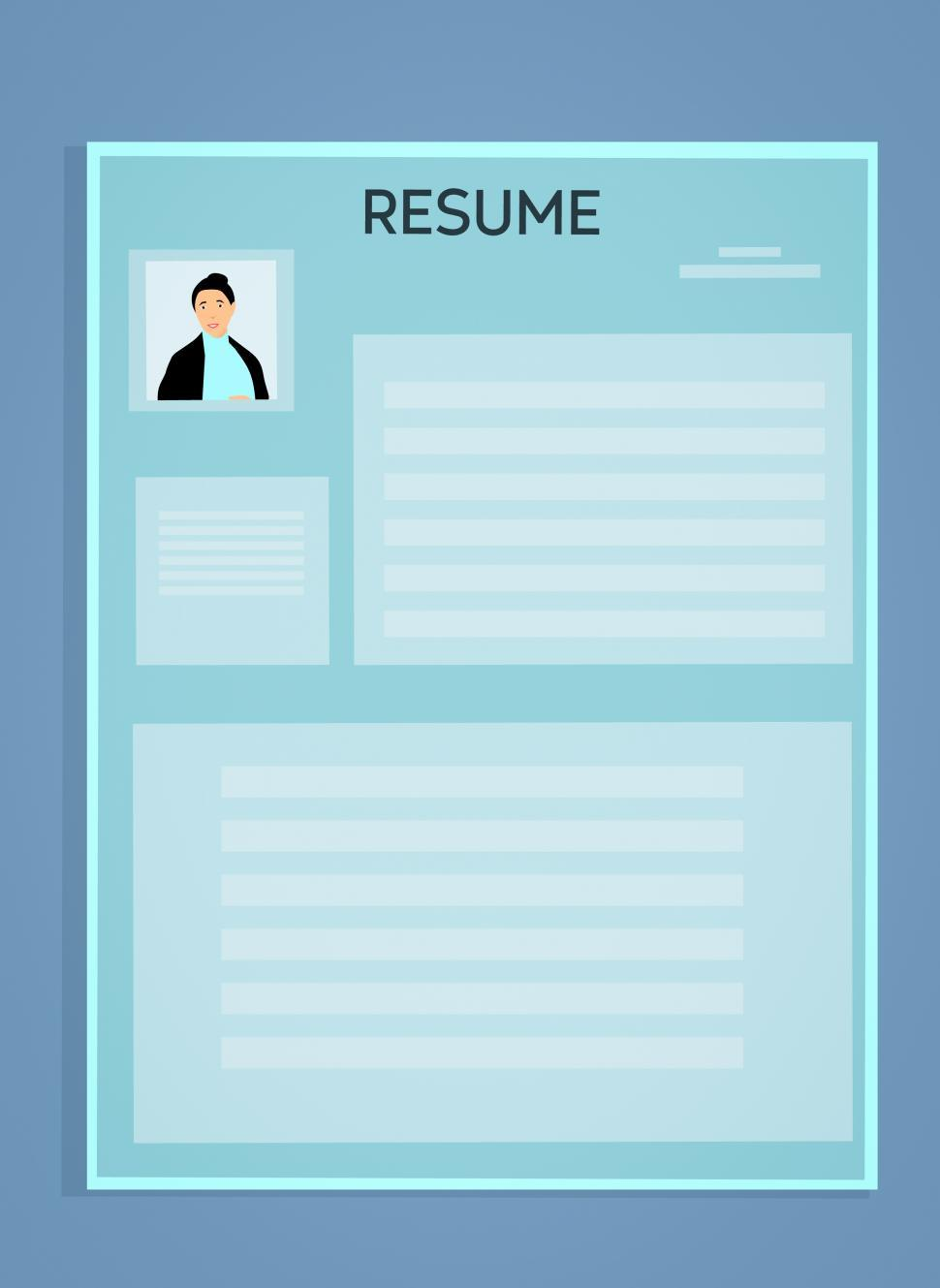 Download Free Stock HD Photo of resume template  Online