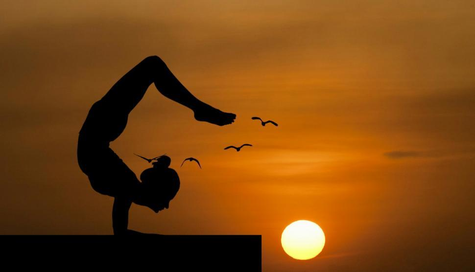 Download Free Stock HD Photo of yoga pose   Online