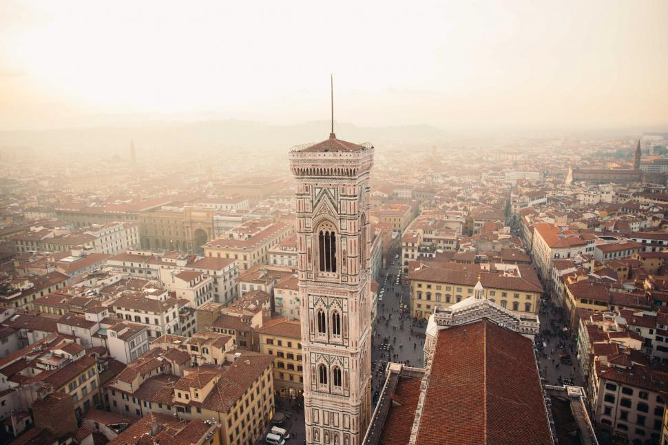 Download Free Stock HD Photo of Towers in Florence, Italy Online
