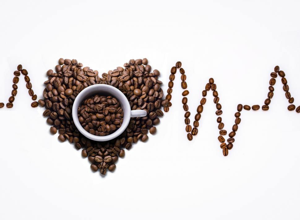 Download Free Stock HD Photo of  coffee cup, coffee, cup, coffee beans  Online