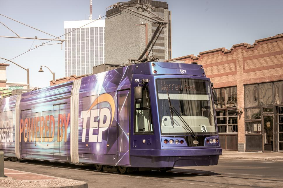 Download Free Stock HD Photo of Modern Streetcar Online