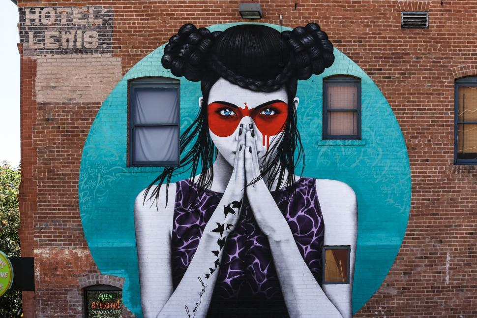 Download Free Stock HD Photo of Tucson Mural by Fin Dac Online