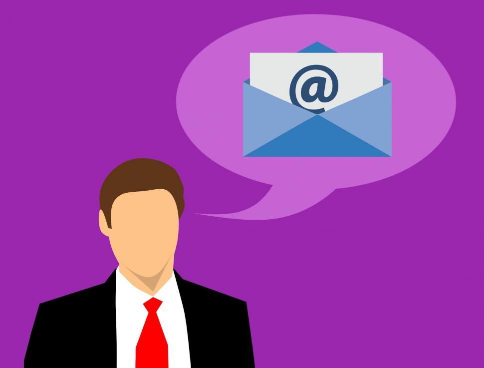 Download Free Stock HD Photo of thinking about email marketing  Online