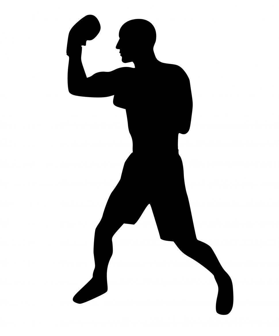 Download Free Stock HD Photo of boxing Silhouette  Online
